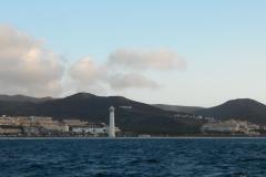 Le phare et le village de Morro Jable