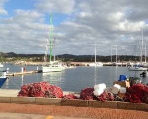 2014-12-13 10h19  l'Ericante à la marina de   Villasimius Sardaigne
