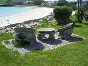 9-5 fauteuils face à la mer à Tresco