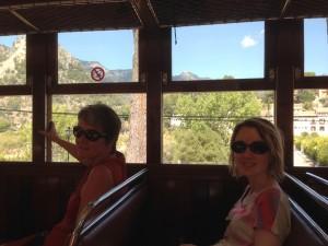 2014-09-12 12h22dans le train de Soller à Palma Majorque Baléares