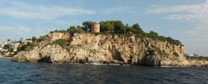 2014-09-09 8h33 départ cala Portals baie de Palma Majorque