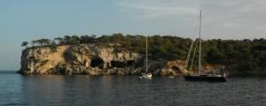 2014-09-08 18h07 cala Portal baie de Palma Majorque Espagne (2)