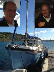 2014-11-12 13h28 Saramba voilier de Victorau port Addaya Minorque (2)