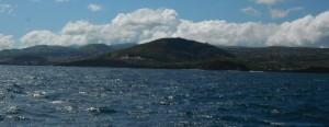 2014-06-16 16h46 sommet dégagé rare départ d' Angra Terceira et des Açore