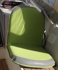 siège vert
