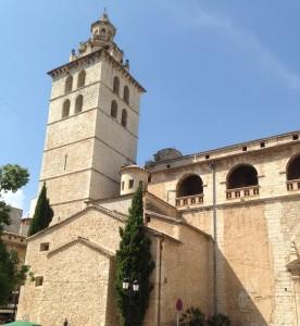 2014-09-13 14h41 église d'Inca centre de Majorque Baléares