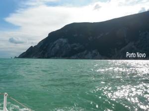 2015-09-26 15h12  pointe de Porto Novo mouillage Adriatique Italie