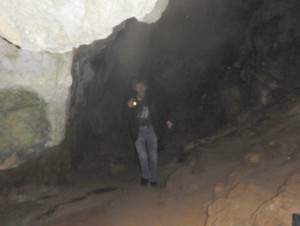 2016-05-09 18h45 balade grotte au stalactite