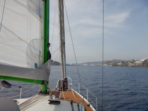 2016-06-01 17h38 arrivée sur Ornos Mykonos Cyclades